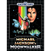 Michael Jackson's Moonwalker Empty Box For Sega Genesis