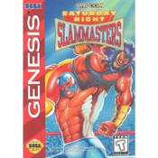Saturday Night Slammasters Empty Box For Sega Genesis