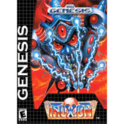Truxton Empty Box For Sega Genesis