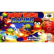 Diddy Kong Racing Empty Box For Nintendo N64