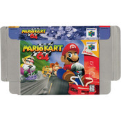 Mario Kart 64 - Empty N64 Box