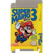 Super Mario Bros. 3 - Empty NES Box