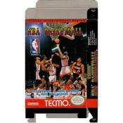 Tecmo NBA Basketball - Empty NES Box