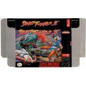 Street Fighter II - Empty SNES Box
