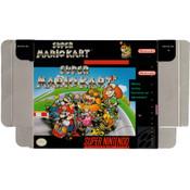 Super Mario Kart - Empty SNES Box