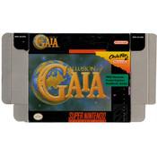 Illusion of Gaia - Empty SNES Box
