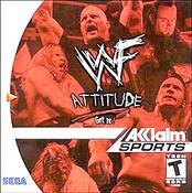 WWF Attitude - Dreamcast Game