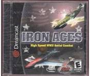 Complete Iron Aces WWII Aerial Combat  - Dreamcast Game