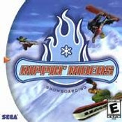 Complete Rippin' Riders Snowboarding - Dreamcast Game