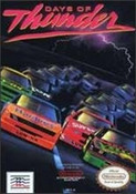 Complete Days of Thunder Racing - NES