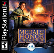Complete Medal of Honor:Underground - PS1 Game