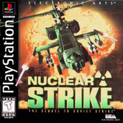 Complete Nuclear Strike - PS1 Game