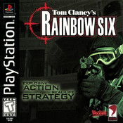 Complete Rainbow Six - PS1 Game