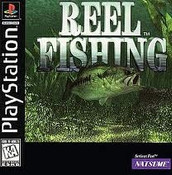 Complete Reel Fishing - PS1 Game