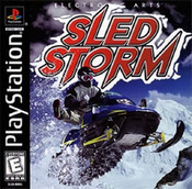 Complete Sled Storm - PS1 Game