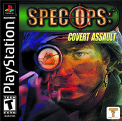 Complete Spec Ops: Covert Assault - PS1 GameComplete Spec Ops: Covert Assault - PS1 Game