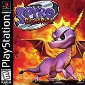 Complete Spyro 2 Ripto's Rage - PS1 Game