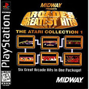 Arcade's Greatest Hits The Atari Collection 1 - PS1 Game