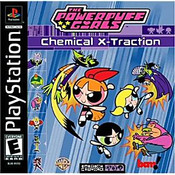 The Powerpuff Girls Chemical X-traction - PS1 Game