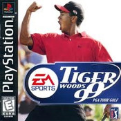Complete Tiger Woods 99 - PS1 Game