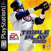 Complete Triple Play 2000 Baseball - PS1 GameComplete Triple Play 2000 Baseball - PS1 Game