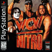 Complete WCW Nitro - PS1 Game