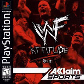 Complete WWF ATTITUDE - PS1 Game