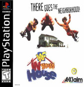 Complete WWF: IN YOUR HOUSE - PS1 Game