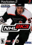 NHL 2K3 - PS2 Game