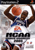 NCAA March Madness 2005 - PS2 Game