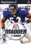 Madden 2005 - PS2 Game