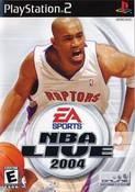 NBA Live 2004 - PS2 Game