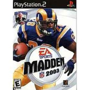 Madden 2003 - PS2 Game