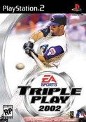 Triple Play 2002 - PS2 Game