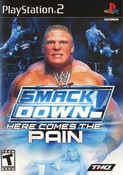 WWF Smackdown Here Comes Pain - PS2 Game