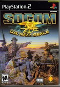 Socom U.S Navy Seals - PS2 Game