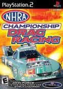 NHRA Championship Drag Racing - PS2 Game