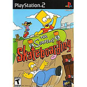 Simpson's Skateboarding, The - PS2 Game