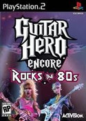 Guitar Hero Encore Rock the 80s - PS2 Game