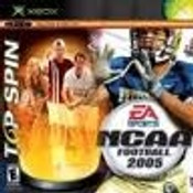 NCAA Football 2005 & Top Spin Tennis - Microsoft Xbox Game