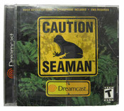 Complete Caution Seaman - Dreamcast Game