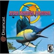 Complete Sega Marine Fishing - Dreamcast Game