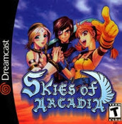 Complete Skies of Arcadia - Dreamcast Game