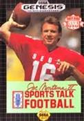 Complete Sports Talk Football Joe Montana II - Genesis