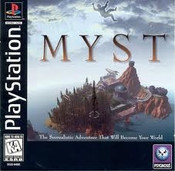 Myst - PS1 Game