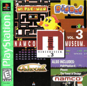 Complete Namco Museum Vol. 3 Greatest Hits - PS1 GameComplete Namco Museum Vol. 3 Greatest Hits - PS1 Game