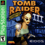 Complete Tomb Raider III Greatest Hits - PS1 Game