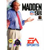 Madden 98 Complete Game For Sega Genesis