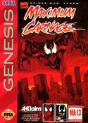Complete MAXIMUM CARNAGE - Genesis