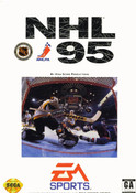NHL 95 - Genesis Game box cover